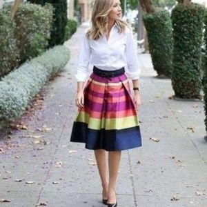 Marigot Pleated Skirt Anthro Moutinette Souers